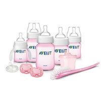 Philips Avent Classic Tinted Pink Newborn Gift Set