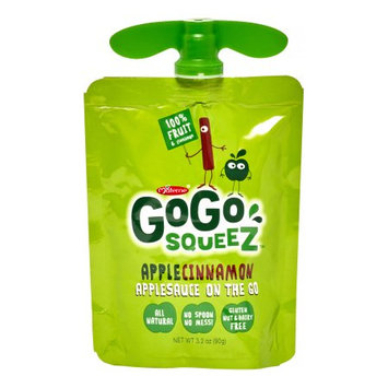 GoGo Squeez Applesauce On The Go, Apple Cinnamon, 3.2 Oz (Case of 18)
