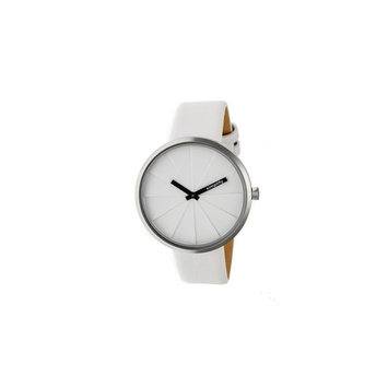 Simplify The 4000 Leather-Band Watch w/ Free S&H