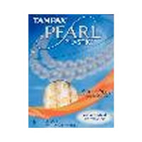 Tampax Pearl Plastic, Super Plus Absorbency, Unscented Tampons, 18-Count (3-Pack)