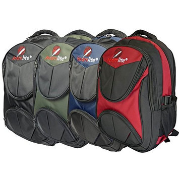 Laptop Backpacks Bags - Backpack Fits 11.6 12 13.3 15.6 Inch Macbook, Laptops Size Screens - Hand Luggage Cabin Baggage Size Laptop Rucksack Bag - 44cm X 30cm X 17cm - Roamlite