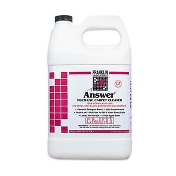 Answer F380422 1 Gallon LB II 21 Multi-Use Carpet Cleaner Bottle