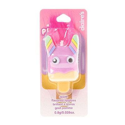 Claire's Pucker Pops Girl's Pucker Pops Rainbow Monster Apple Flavored Lip Gloss
