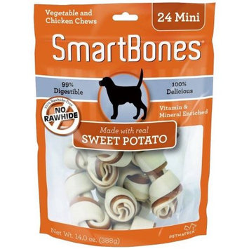 Petmatrix Llc Petmatrix Smartbones Mini-24 Pk Sweet Potato SBSP-02002