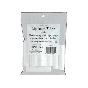 Bolek's Lip Balm Tubes 12/Pkg