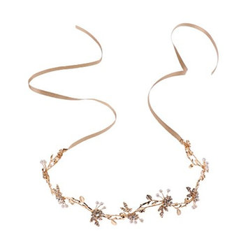MagiDeal Bridal Flower Side Hair Clips Pearl Bridal Headpiece Wedding Accessories