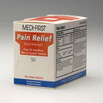 Pain Relief, Tablet, PK100