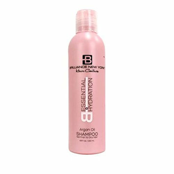 Brilliance New York - Essential Hydration Shampoo with Argan Oil, Perfect for Normal to Dry Hair, 8 fl oz (236.6 ml)
