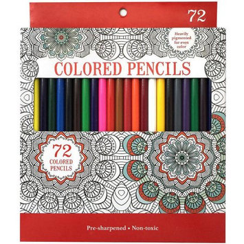 Leisure Arts Colored Pencils, Pack of 72