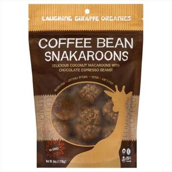 Laughing Giraffe Organics Snakaroons Gluten Free Coffee Bean 6 oz - Vegan