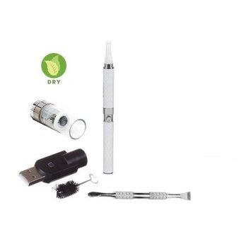 Zebra Smoke Z-Star Dry Herb Vape Pen E-Cigarette Electronic Cigarette Vaporizer For Dry Herbs 650 mah Battery Vaporizer Pen Kit (White)