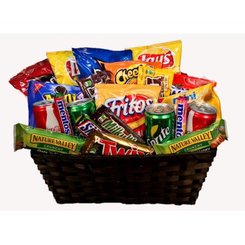 Gordan Gifts Incs Snack Attack Candy Gift Basket