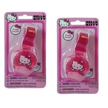 Hello Kitty Lip Gloss Watch x 2 (Fruit Flavor) by Hello Kitty