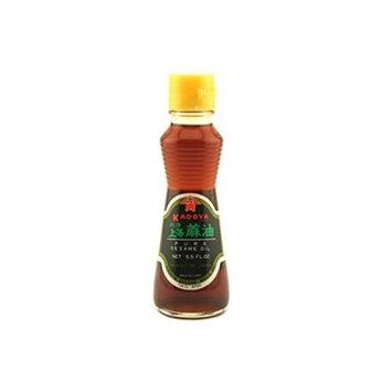 Kadoya 100% Pure Sesame Oil 5.5 OZs Pack of 1