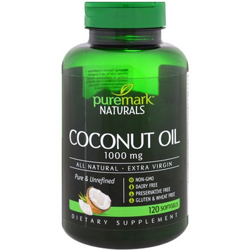 PureMark Naturals, Coconut Oil, 1000 mg , 120 Softgels