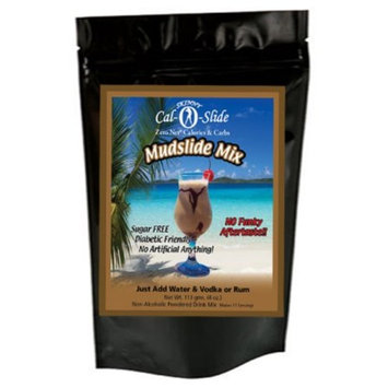Skinny Cal-O-Slide (TM) Zero Calorie All Natural Mudslide Cocktail Mix