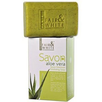 Fair & White Original Aloe Vera Exfoliating Soap, 200g / 7oz