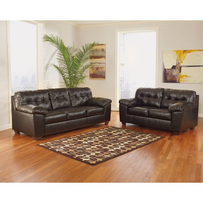 Signature Design by Ashley Alliston Leather Living Room Set