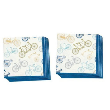 Now Designs Paper Lunch Napkin, Velocity, Set of 2 [Velocity]