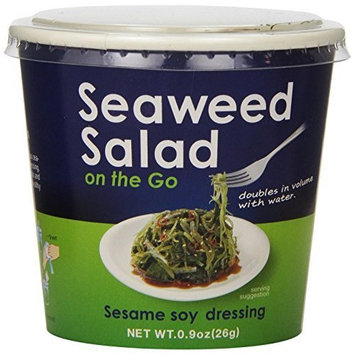 Japanese Delight Seaweed Salad on the Go, Sesame Soy, 0.9-Ounce (Pack of 6)