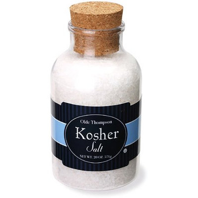 Olde Thompson 22-315 - Kosher Sea Salt, 19.5-oz Jar