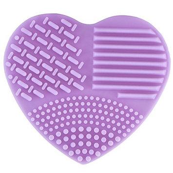 TOOGOO Egg Cleaning Tools Cleaners Glove Makeup Brush Washing Washing Fashion Silicone (Purple)