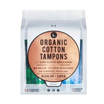 L. Organic Cotton Mixed Tampons