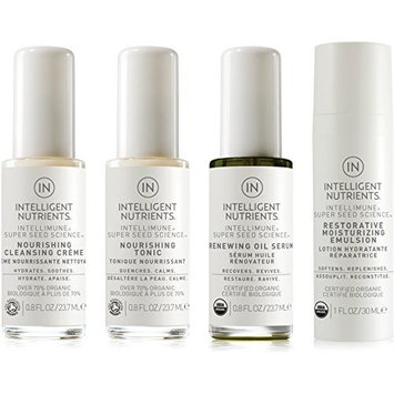Intelligent Nutrients - Combination and Dry Skin Care Set (Set of 4)