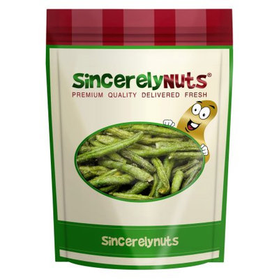 Sincerely Nuts Dried Green Bean Chips, 1.5 LB Bag