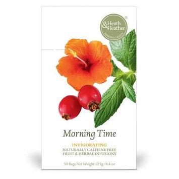 Heath & Heather Tea, Invigorating, Morning Time, 20 Count [Morning Time]