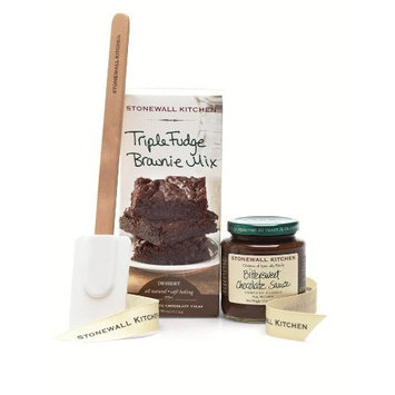 Stonewall Kitchen Triple Fudge Brownie Grab and Go Gift Set