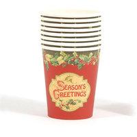 DDI 2127525 Seasons Greetings Printed Cups - Case of 36