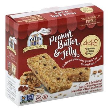 Bakery On Main 275831 Peanut Butter & Jelly Granola Bars