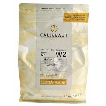 Callebaut W2 28% White Chocolate Callets 5.5 lbs