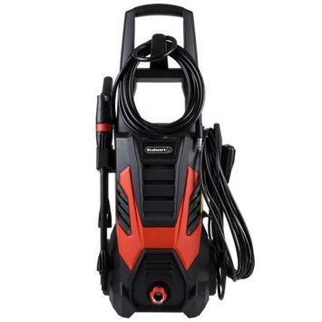 Trademark Global Llc Pressure Washer Electric Powered By Stalwart (Power Washer For Cleaning Driveways, Patios, Decks, Cars and More)
