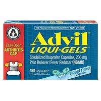 Advil® Liqui-Gels Easy Open Cap Pain Reliever/Fever Reducer Liquid Filled Capsule, 200mg Ibuprofen - 160ct