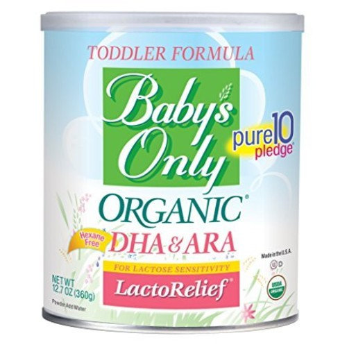 Baby's Only Organic LactoRelief with DHA & ARA Toddler Formula - Pack of 2