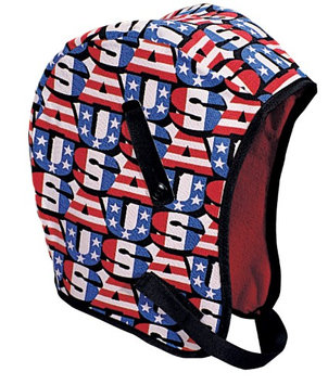 Mutual Industries WL3-210 Kromer High Quality Hard Hat Winter Liner with USA Regular Nape, Red/White/Blue (Pack of 2)