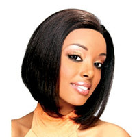 ZURY Human Lace Front Wig-HRH Lace Wig 11-Color#1B-Off Black