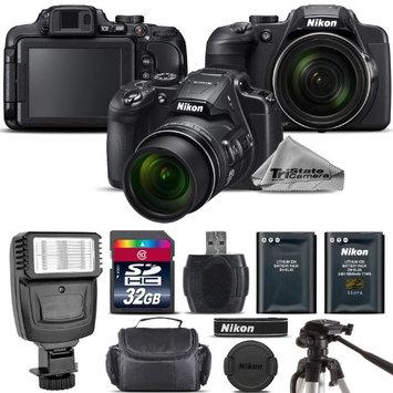 Tristatecamera Nikon COOLPIX B700 Digital 20.2MP 4K WiFi NFC Camera 60x Zoom + LED - 32GB Kit