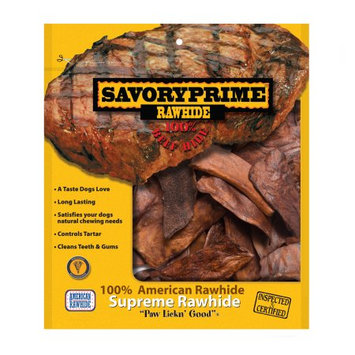 Savory Prime Beef Rawhide Chips (047)