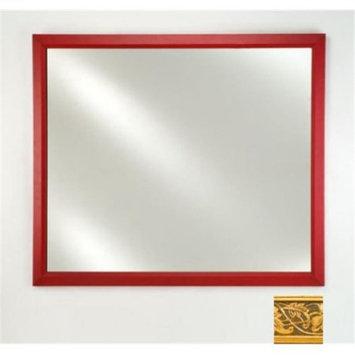 Afina Corporation FM2026ARSGD 20 inchx 26 inchSignature Plain Mirror - Aristocrat G