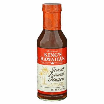 King's Hawaiian Sweet Island Ginger Sauce, 14.5 Ounce Bottle