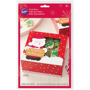 Wilton Christmas Cookie Box 3/Pkg-Santa