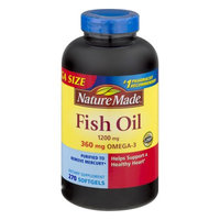 Pharmavite Llc Nature Made Fish Oil 1200mg Softgels, 270 ct