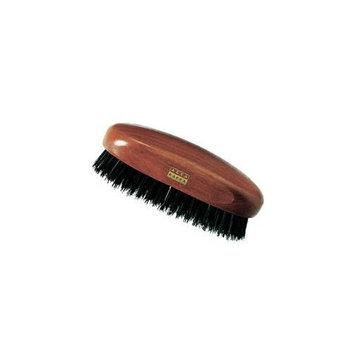 Acca Kappa Military Style Brush w/ Natural Black Boar Bristles