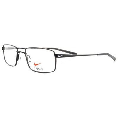 NIKE Eyeglasses 4191 001 Black Chrome 51MM