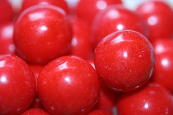 Ford Gum GumBalls Red 2.5 Pounds 141 pieces