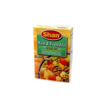 Shan Meat & Vegetable Curry Mix - 100g