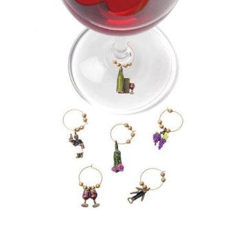 True Fabrications Wine Connoisseur Glass Charm 592 TRUE FABRICATIONS